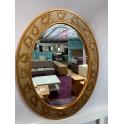 Exklusives Design Wandspiegel Goldfarben UVP 179 EUR